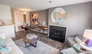 Living Room, Williamsburg Townhomes Rental Homes