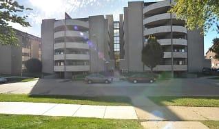 Building, Round Balconies
