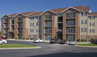 Building, Terrace Green Apartments - Joplin