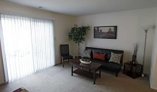 Living Room, Bradford Lake Apartments