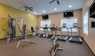 Fitness Weight Room, North Park Townhomes