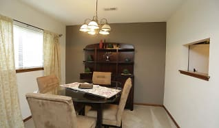 Dining Room, Brookfield Village Apartments