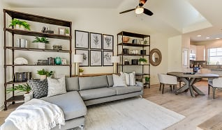 Living Room, Fairway Village Townhomes