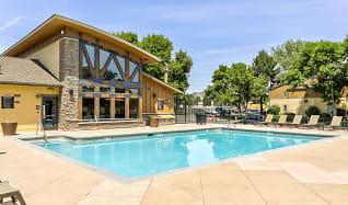 Pool, Copper Flats Apartments