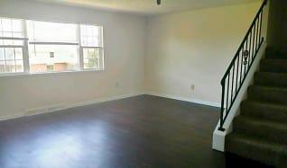 Living Room, Belair Townhomes
