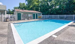 Pool, Lakeview Apartments of Farmington Hills