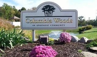 Community Signage, Columbia Woods Apartments