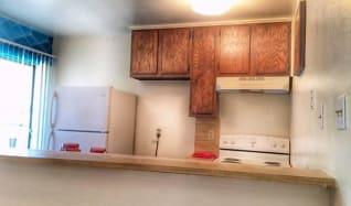 Kitchen, Riverwalk Apartments