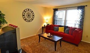 Living Room, Evergreen Terrace Apartments (ETSU/JCMC)