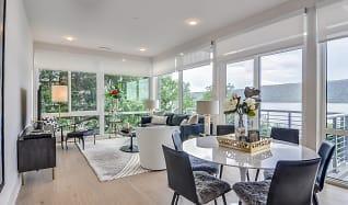 Living Room, 1177@Greystone Luxury Apartments