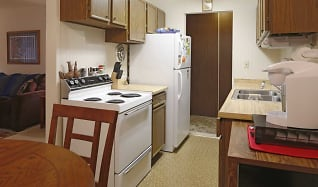 Kitchen, Tantara Apartments