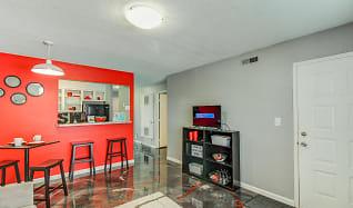 Living Room, Stadium Walk Apartments