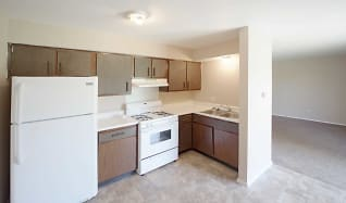 Kitchen, Crowne Park Apartments