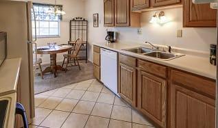 Kitchen, Colonial Crest Apartments
