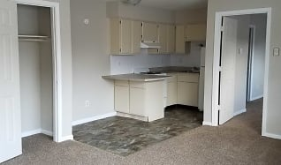 Kitchen, Holly Apartments
