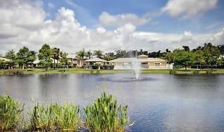 Lake, River Park Place Apartments
