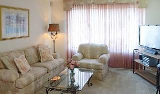 Living Room, Scotchbrook Rental Townhomes