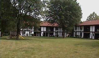 Building, Tudor Park Apartments