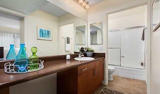 Two Bedroom Apartment Master Bath, eaves San Dimas Canyon