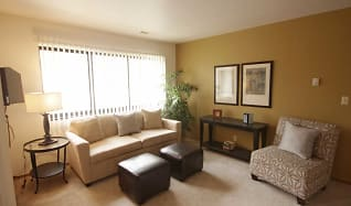 Living Room, Southgate Apartments