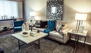 Living Room, Concierge Apartments