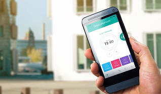 Control the temperature without getting up and never fumble for your keys again. Smart home tech available in every home!, Wexford Village Apartment Homes