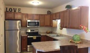 Kitchen, Fairfield Village Senior Apartments