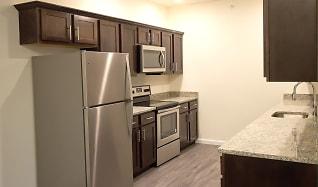 Kitchen, 5 Mile Square Apartments