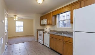 Kitchen, Home Place Apartments