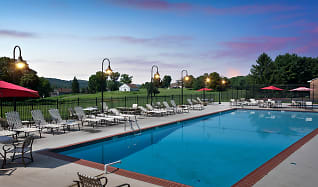 Pool, The Fairways Apartments & Townhomes