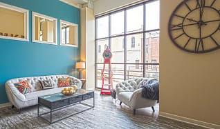 Living Room, Artisan Apartments