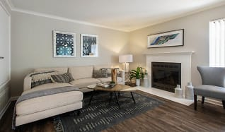Living Room, The BelAire Apartment Homes