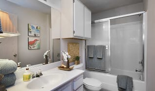 Bathroom, Grand Summit Apartments