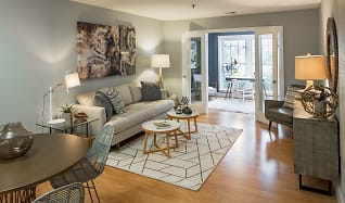 Living Room 4, Rosslyn Heights and Rosslyn Vue