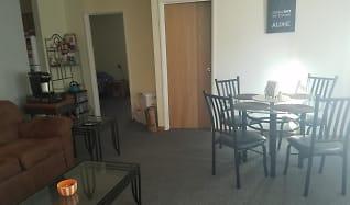 Dining Room, Locust III Apartments