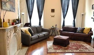 Living Room, Mount Vernon Apartments