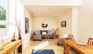 Living Room, City View Lofts
