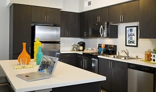 Kitchen, BLVD63 - Lease by the Bedroom