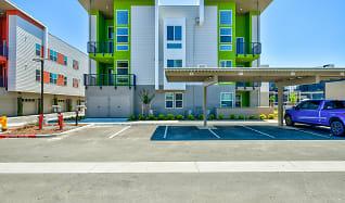 Building, Hub Apartments