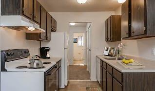 Kitchen, Parkway Manor Apartments