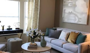 Living Room, Residences at Brentwood