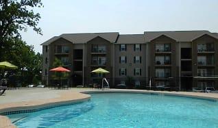 Pool, Terrace Green Apartments - Joplin