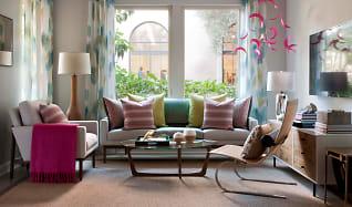 Living Room, Villas at Playa Vista - Malibu