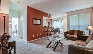 Living Room, Las Palmas Apartments
