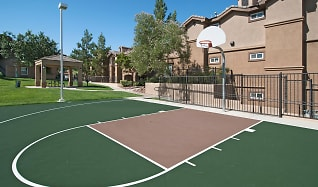 Basketball court, Antelope Ridge