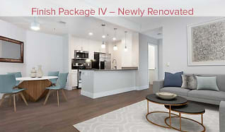 Phase I newly renovated living, dining, and kitchen area (in select homes), Avalon at Mission Bay