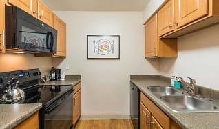 Kitchen, Apres Apartments