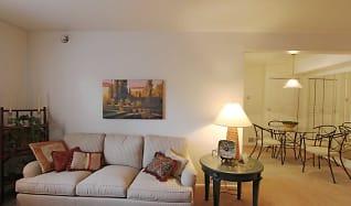 Living Room, Quail Bay Apartments