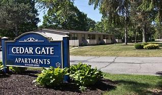 Community Signage, Cedargate Apartments