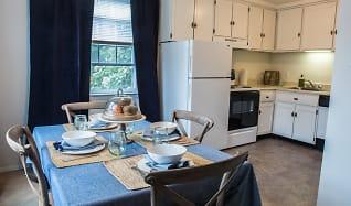 Dining Room, Audubon Manor Apartments